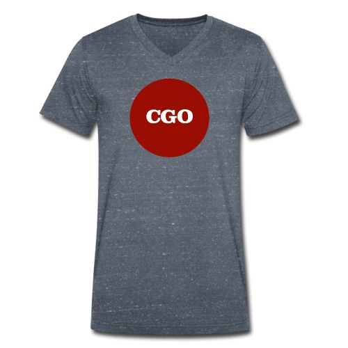 watermerk cgo - Mannen bio T-shirt met V-hals van Stanley & Stella