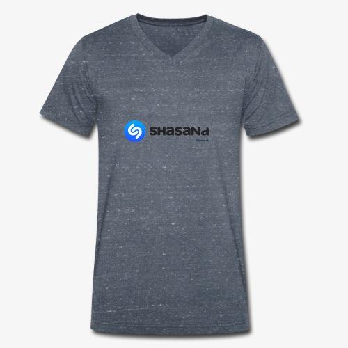 Shasand - T-shirt ecologica da uomo con scollo a V di Stanley & Stella