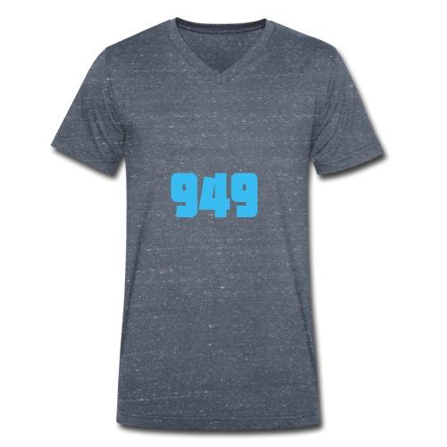 949blue - Männer Bio-T-Shirt mit V-Ausschnitt von Stanley & Stella