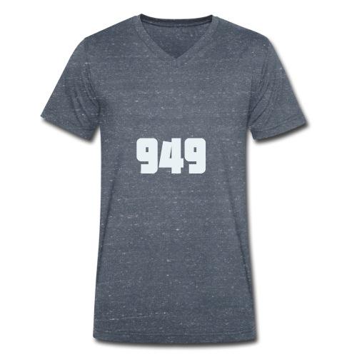 949withe - Männer Bio-T-Shirt mit V-Ausschnitt von Stanley & Stella