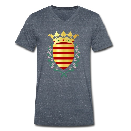 Wapenschild Borgloon - Mannen bio T-shirt met V-hals van Stanley & Stella