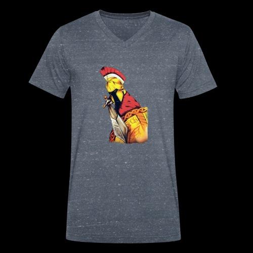 Centurion Roman - T-shirt ecologica da uomo con scollo a V di Stanley & Stella