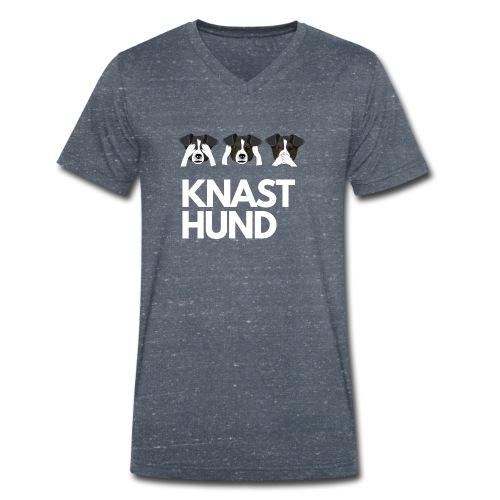 Knast Hund - Jack Russel - Männer Bio-T-Shirt mit V-Ausschnitt von Stanley & Stella