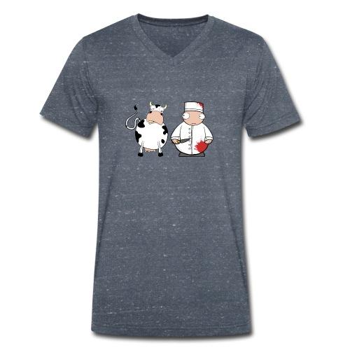 Friends ? - Camiseta ecológica hombre con cuello de pico de Stanley & Stella