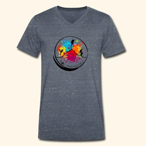 Logo Transparent Av - T-shirt bio col V Stanley & Stella Homme