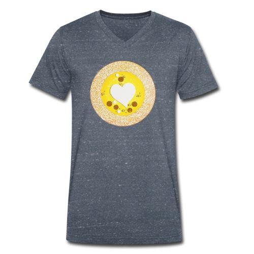 Sternentor der Wertschätzung - Männer Bio-T-Shirt mit V-Ausschnitt von Stanley & Stella