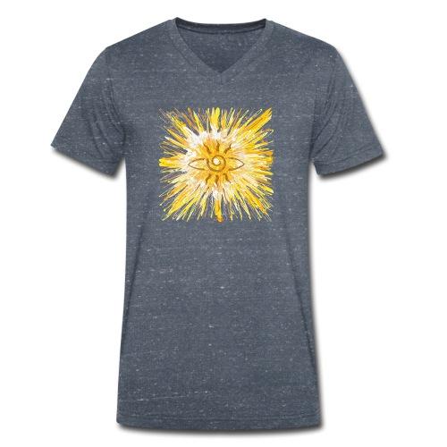 Sternentor der LichtKraft - Sonja Ariel von Staden - Männer Bio-T-Shirt mit V-Ausschnitt von Stanley & Stella