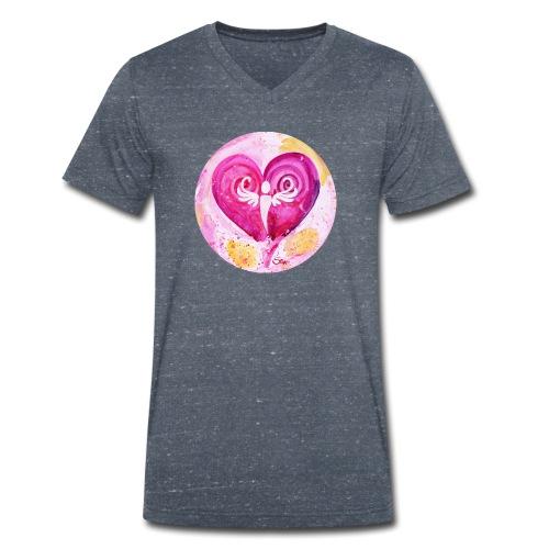 Engel des LiebesGlücks - Männer Bio-T-Shirt mit V-Ausschnitt von Stanley & Stella