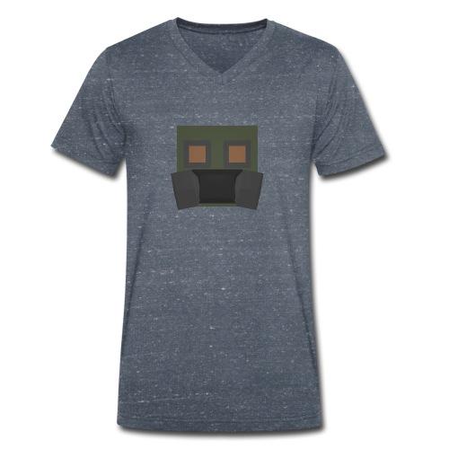 Gasmask S-7 - T-shirt ecologica da uomo con scollo a V di Stanley & Stella