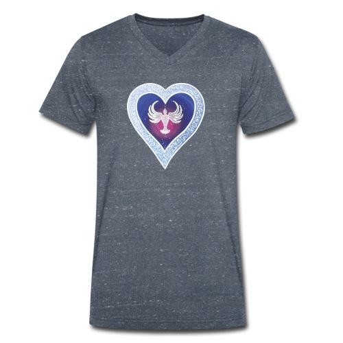 HerzEnergie Frieden - Sonja Ariel von Staden - Männer Bio-T-Shirt mit V-Ausschnitt von Stanley & Stella