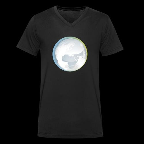 PTS logo new15 beeldmerkS png - Men's Organic V-Neck T-Shirt by Stanley & Stella
