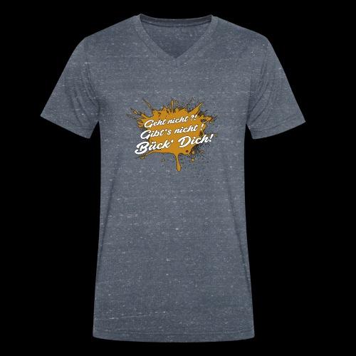 BückDich - Männer Bio-T-Shirt mit V-Ausschnitt von Stanley & Stella