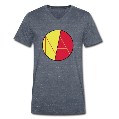 Neele und Axel Spreadshir - Männer Bio-T-Shirt mit V-Ausschnitt von Stanley & Stella