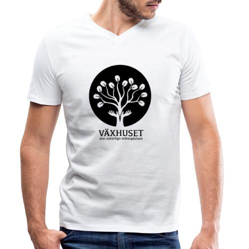 Växhuset - Ekologisk T-shirt med V-ringning herr från Stanley & Stella