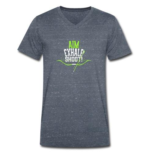 Bogenschütze - Männer Bio-T-Shirt mit V-Ausschnitt von Stanley & Stella