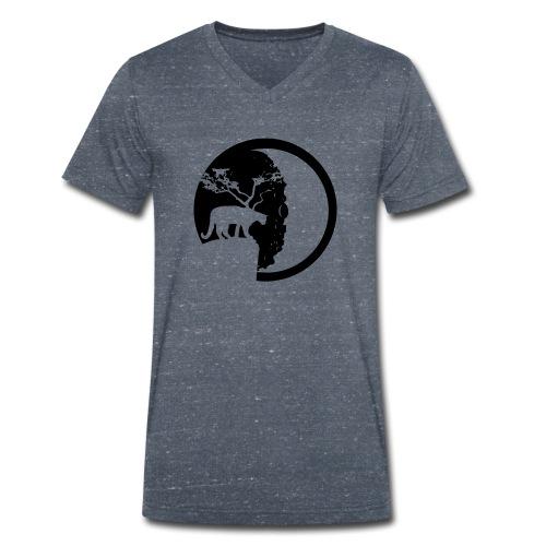 Wildcat - Männer Bio-T-Shirt mit V-Ausschnitt von Stanley & Stella