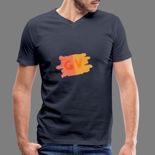 GekkeVincent - Mannen bio T-shirt met V-hals van Stanley & Stella