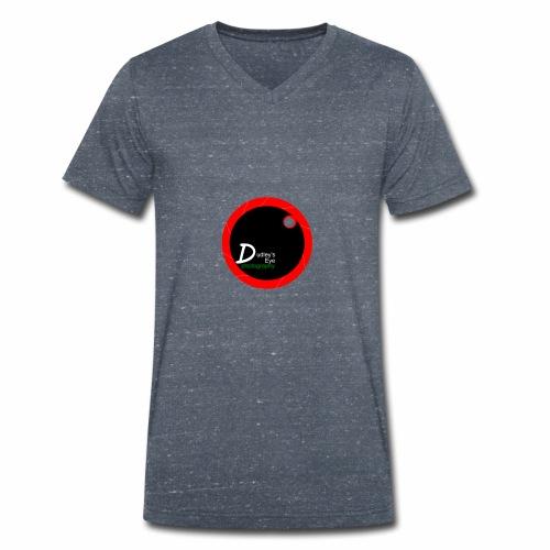DudleysEye watermark 2017 - Men's Organic V-Neck T-Shirt by Stanley & Stella
