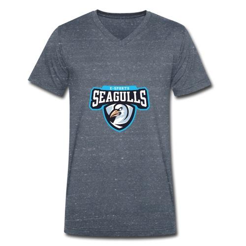 Seagulls eSports - Männer Bio-T-Shirt mit V-Ausschnitt von Stanley & Stella