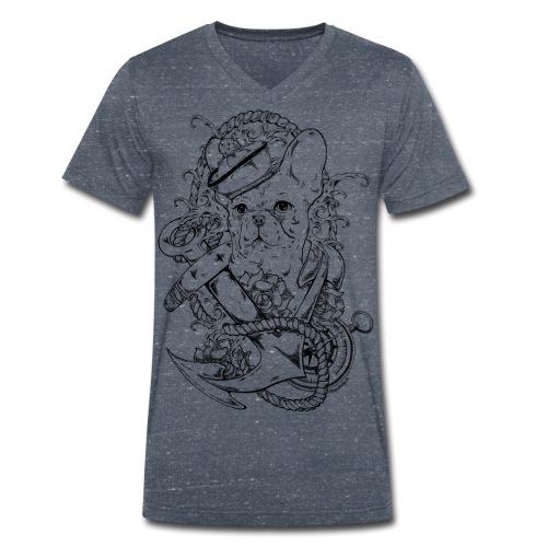oldschoolboy png - Männer Bio-T-Shirt mit V-Ausschnitt von Stanley & Stella