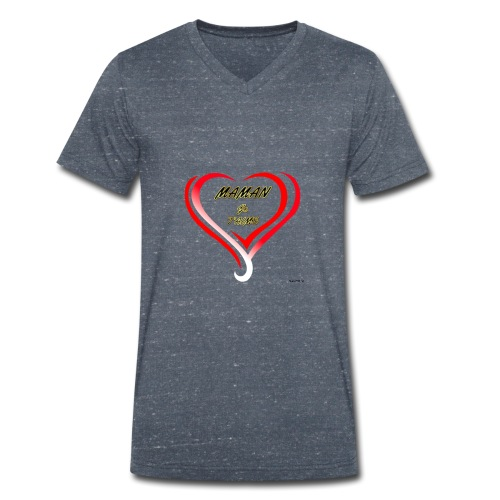 fete mere - T-shirt bio col V Stanley & Stella Homme