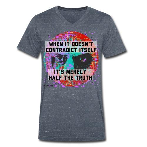 When It Doesn't Contradict Itself - Mannen bio T-shirt met V-hals van Stanley & Stella