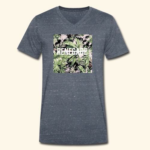 renegade - Men's Organic V-Neck T-Shirt by Stanley & Stella