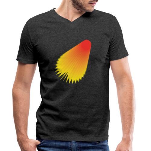 shuttle - Men's Organic V-Neck T-Shirt by Stanley & Stella