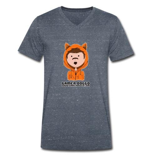 Gamer Doggo Merch - Men's Organic V-Neck T-Shirt by Stanley & Stella