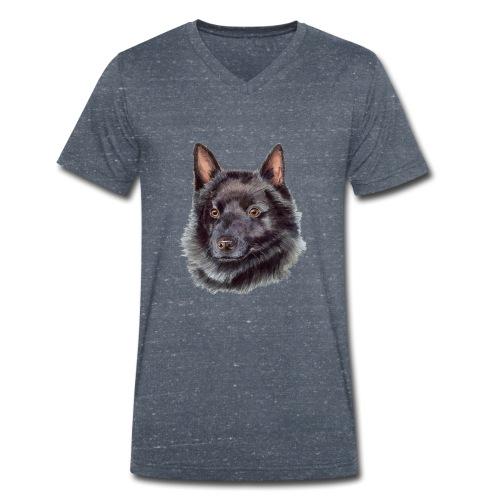 schipperke - akv - Økologisk Stanley & Stella T-shirt med V-udskæring til herrer