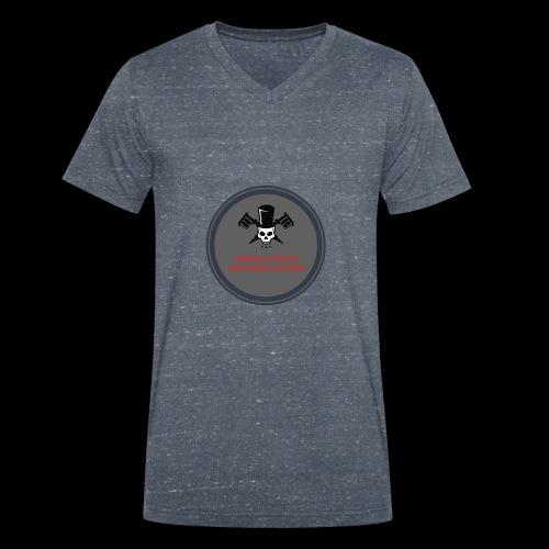 Rock'n'roll attitude - Männer Bio-T-Shirt mit V-Ausschnitt von Stanley & Stella