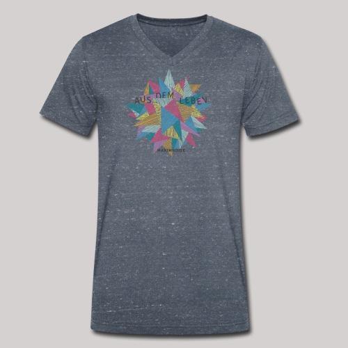 Aus dem Leben - Männer Bio-T-Shirt mit V-Ausschnitt von Stanley & Stella