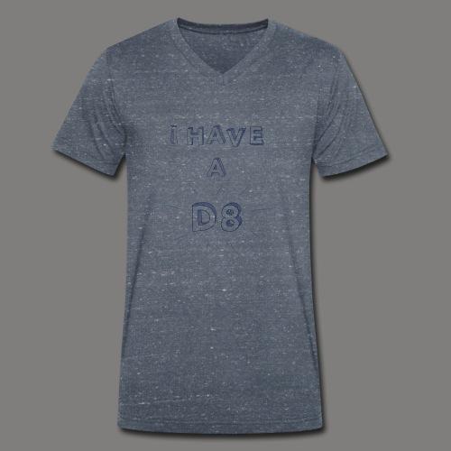 DATE blue - T-shirt bio col V Stanley & Stella Homme
