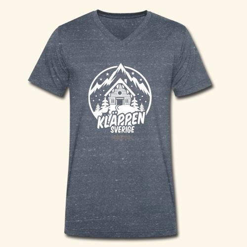 Kläppen Sälen Sverige Ski Resort T Shirt Design - Männer Bio-T-Shirt mit V-Ausschnitt von Stanley & Stella