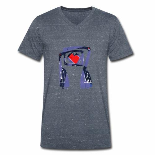 Love birds - Mannen bio T-shirt met V-hals van Stanley & Stella