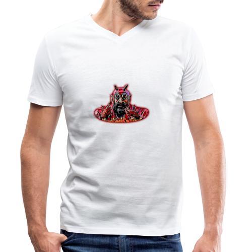 DEMONIO - Camiseta ecológica hombre con cuello de pico de Stanley & Stella