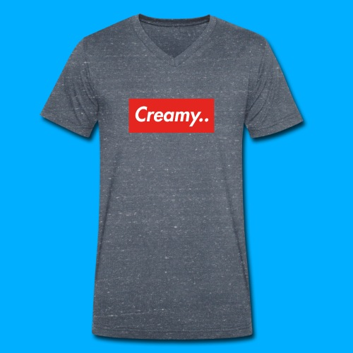 LIMITED EDITION Creamy... Shirts - Men's Organic V-Neck T-Shirt by Stanley & Stella