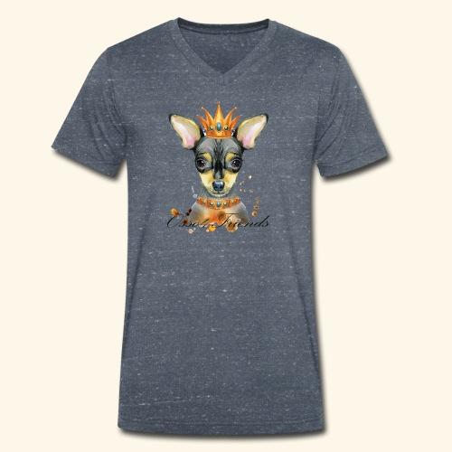 LADY PINCHER - T-shirt ecologica da uomo con scollo a V di Stanley & Stella