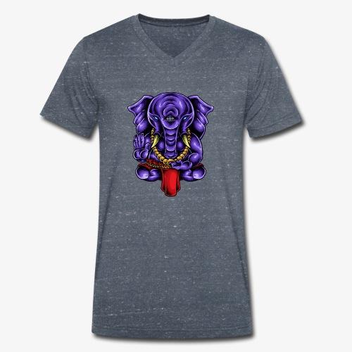 Gaṇesh - T-shirt bio col V Stanley & Stella Homme