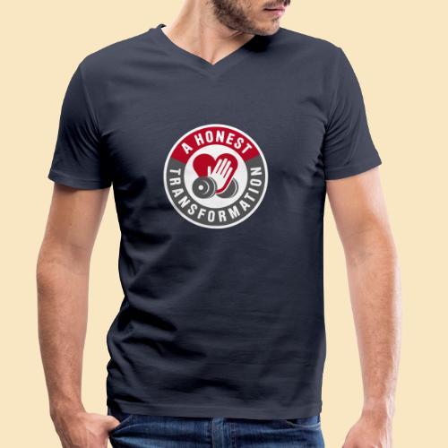 Honest Transformation Heart - Männer Bio-T-Shirt mit V-Ausschnitt von Stanley & Stella