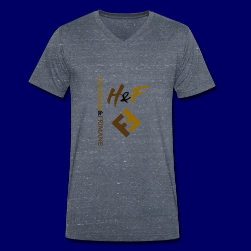 h&F luxury style - T-shirt ecologica da uomo con scollo a V di Stanley & Stella