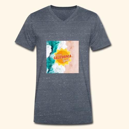 California Spirit Surfin - T-shirt bio col V Stanley & Stella Homme
