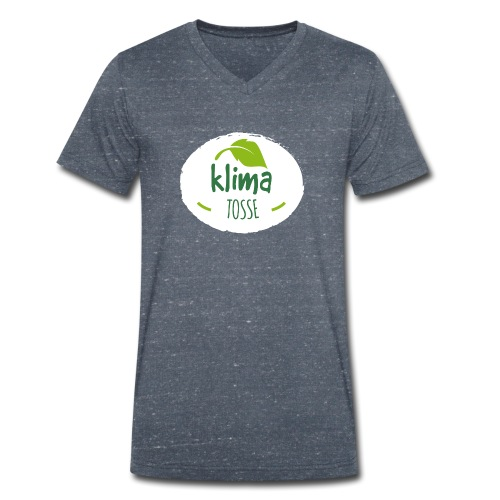 Klimatosse - alt på ét blad - Økologisk Stanley & Stella T-shirt med V-udskæring til herrer