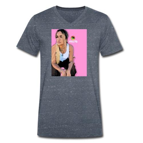 Karol G - Men's Organic V-Neck T-Shirt by Stanley & Stella