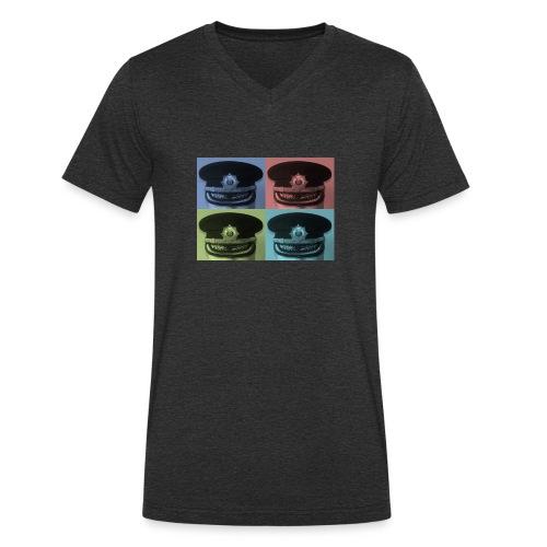 kepis - Camiseta ecológica hombre con cuello de pico de Stanley & Stella