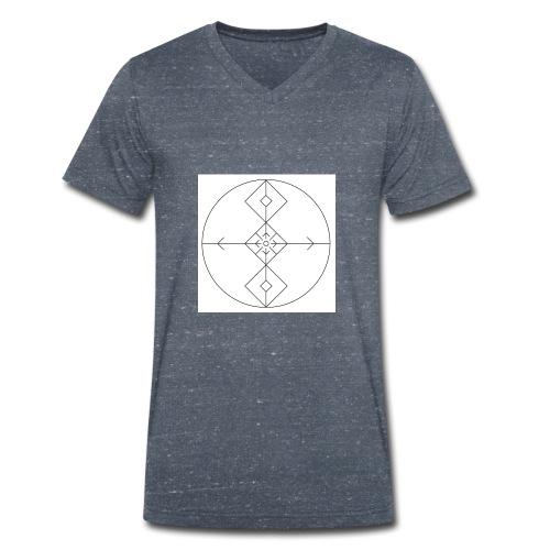 I release family karma now. - Økologisk T-skjorte med V-hals for menn fra Stanley & Stella