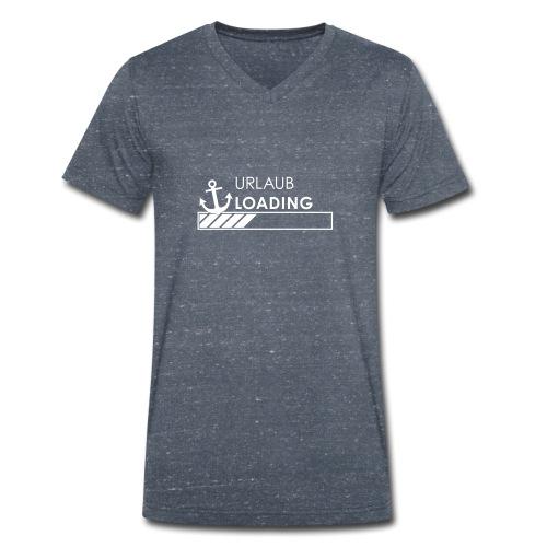 Urlaub loading - Männer Bio-T-Shirt mit V-Ausschnitt von Stanley & Stella
