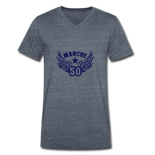 50 manche departement aile normandie - T-shirt bio col V Stanley & Stella Homme