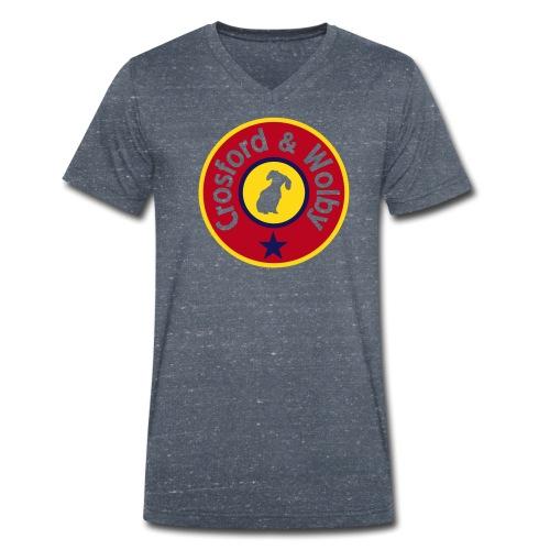 Crosford & Wolby - Men's Organic V-Neck T-Shirt by Stanley & Stella