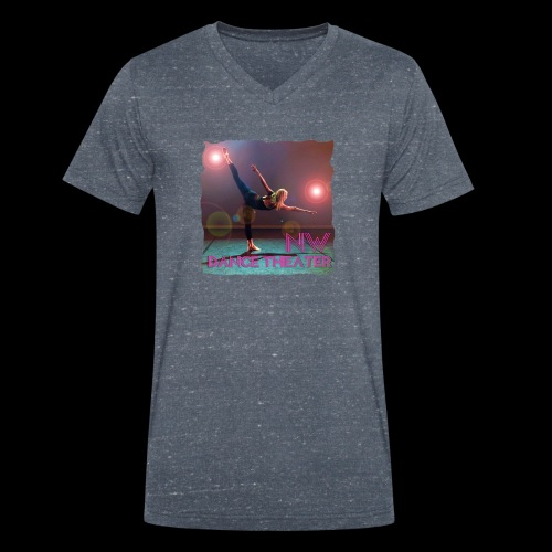NW Dance Theater Original [DANCE POWER COLLECTION] - Men's Organic V-Neck T-Shirt by Stanley & Stella